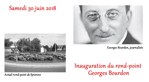 Inauguration du rond-point Georges Bourdon