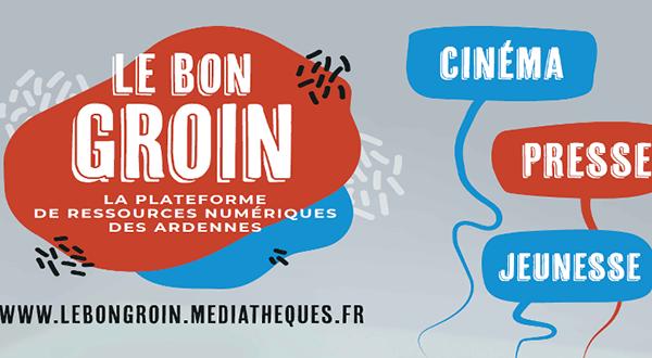 Le « Bon Groin » : La nouvelle offre numérique de la Bibliothèque de Vouziers